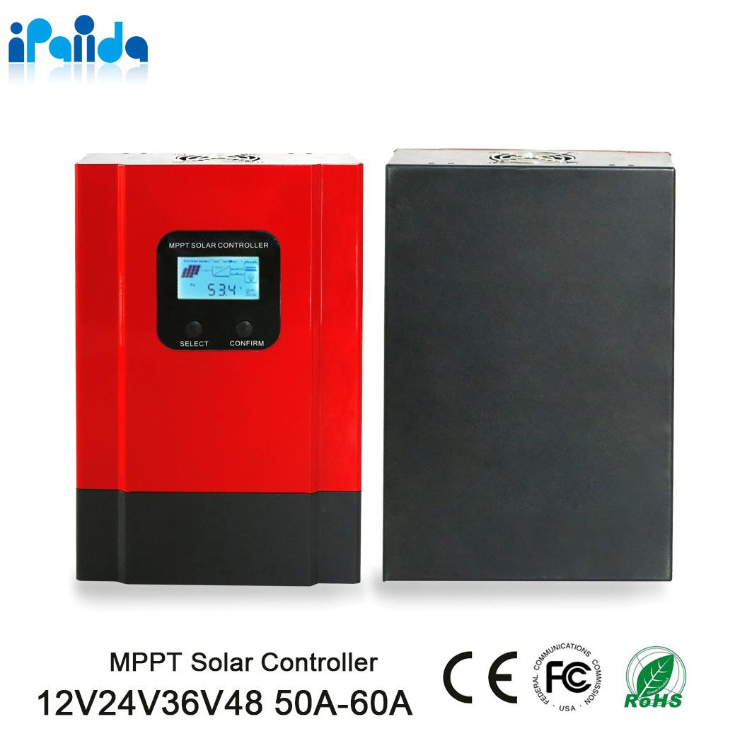 60A MPPT Solar Charge Controller DC12V//24V//36V//48 Off-grid eSmart 3 Battery