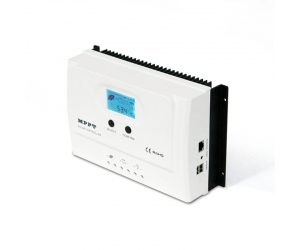I-Panda WISER 12/24V auto work mppt charge controller, Backlight LCD display+dual USB 5V 3A