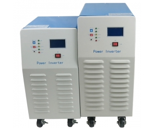 China inverter low frequency pure sine wave for off grid system 6KW