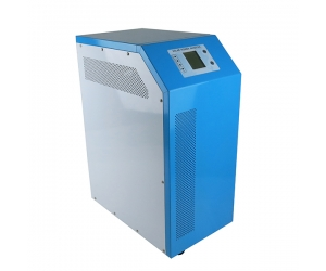 China factory pv power inverter with battery charger 7000w, Pure sine wave inverter with built-in DC Controller
