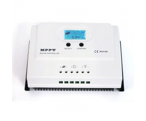 LCD MPPT 50A Charge Controller 12v 24v USB solar system controller