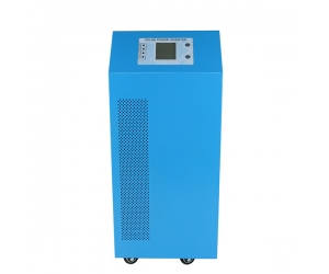 high power hybrid inverter dc 24v to ac 6000w pure sine wave inverter with built-in 40a solar controller