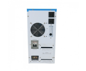 hybrid inverter dc 48v to ac 5000w pure sine wave inverter with built-in 60a solar controller