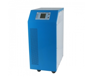 solar and AC power hybrid inverter dc 48v to ac 4000w pure sine wave inverter with built-in 60a solar controller