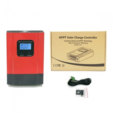 China 12V/24V/36V/48V mppt home controller 40a pv controller, with backlight LCD display factory