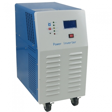 China 2 KW Pure Sine Wave convertidor with AC charger,LCD/LED factory