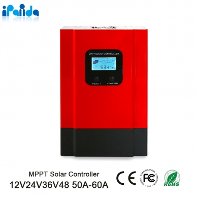 China I-Panda - 20A-60A  DC12V/24V/36V/48V MPPT Solar Charge Controller Residential Off-grid Solar System Battery Charger factory