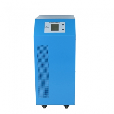 China 6kw dc 96V to ac 220V low frequency pure sine wave solar water pump inverter factory