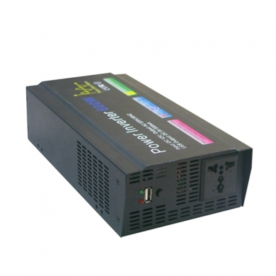 中国Best price 600W high frequency pure sine wave 12V DC to 220V AC power inverter工厂