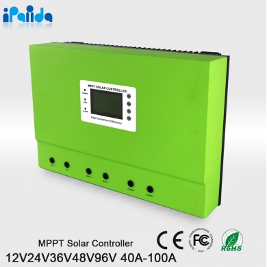 Chine I-Panda high end high quality 80A 12V/24V/36V/48V Residential MPPT Solar Charge Controller off-grid system usine