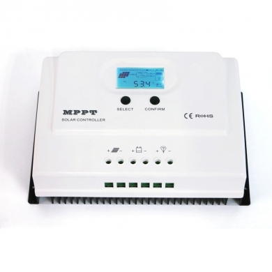 China I-Panda LCD MPPT 50A Charge Controller 12v 24v USB solar system controller factory
