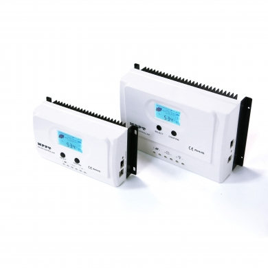 China I-Panda  Max PV Input 150V Solar Charge 12V/24V Controller 15A 20A 30A 40A 50A MPPT with LCD factory