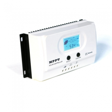 China I-Panda NEW Type WISER-12V 24V auto cooling mppt solar charge controller 15a factory