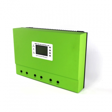 China off grid solar system 24v 100a solar charge controller factory