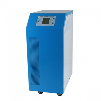 China solar and AC power hybrid inverter dc 48v to ac 4000w pure sine wave inverter with built-in 60a solar controller factory