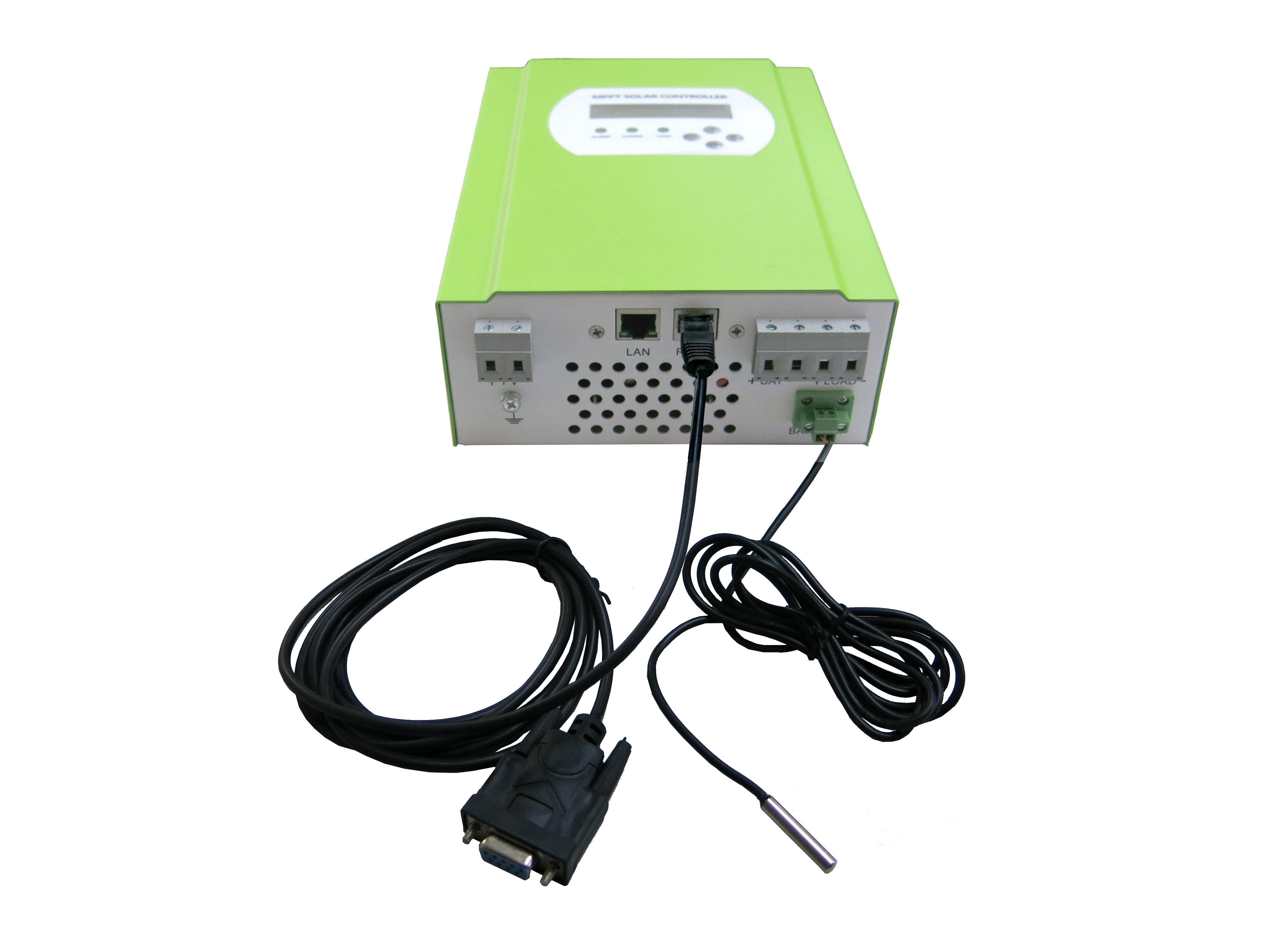 12v 24v 48v System 20a Intelligent Solar Controller For