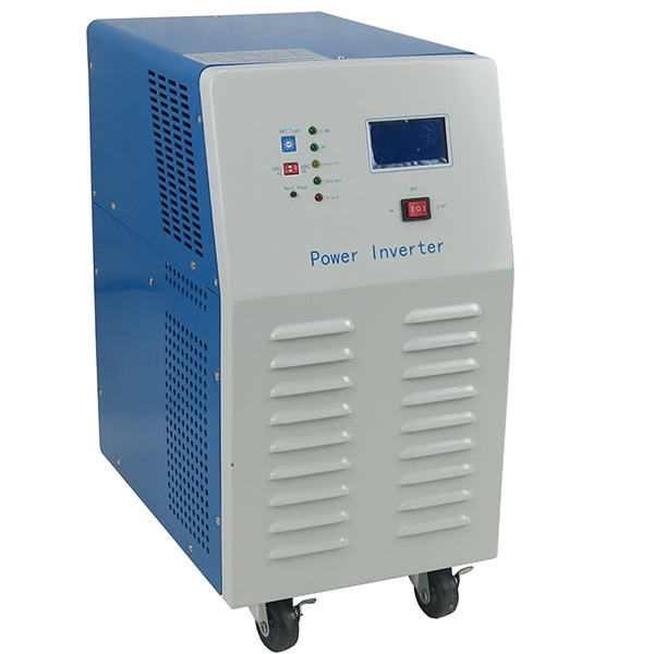 Intelligent power inverter w