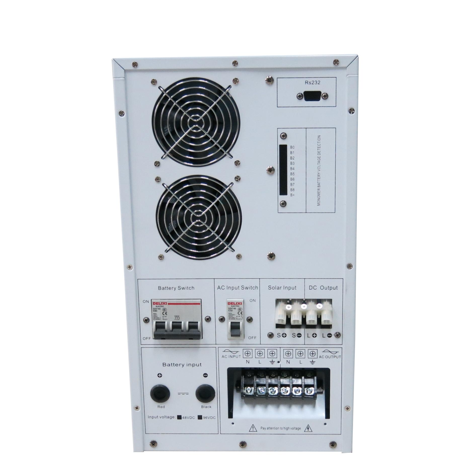 dc 48v bis 220v ac 230v 240v 4kw einphasig und off grid dc ac wechselrichter mit integriertem. Black Bedroom Furniture Sets. Home Design Ideas