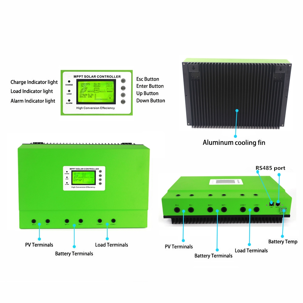 High Efficiency 48v 100a Mppt Solar Controller Picture Of Battery Charging 48 Volt Charge